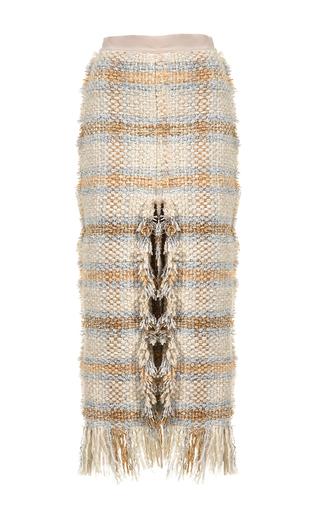Medium lalo multi tweed pencil skirt