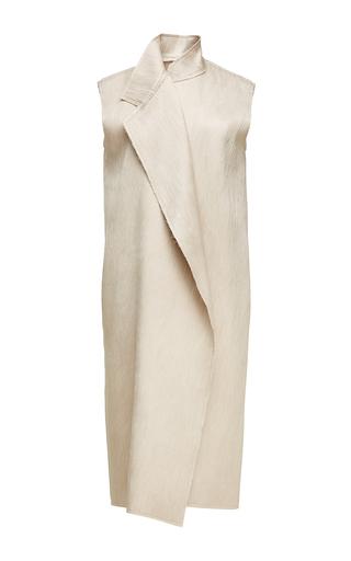 Medium nino babukhadia ivory slim mid length vest