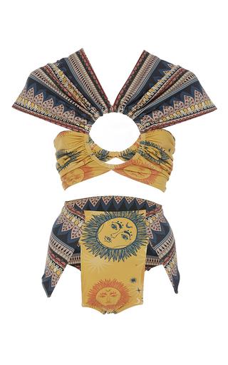 Medium triya multi solar ethnic lace bikini