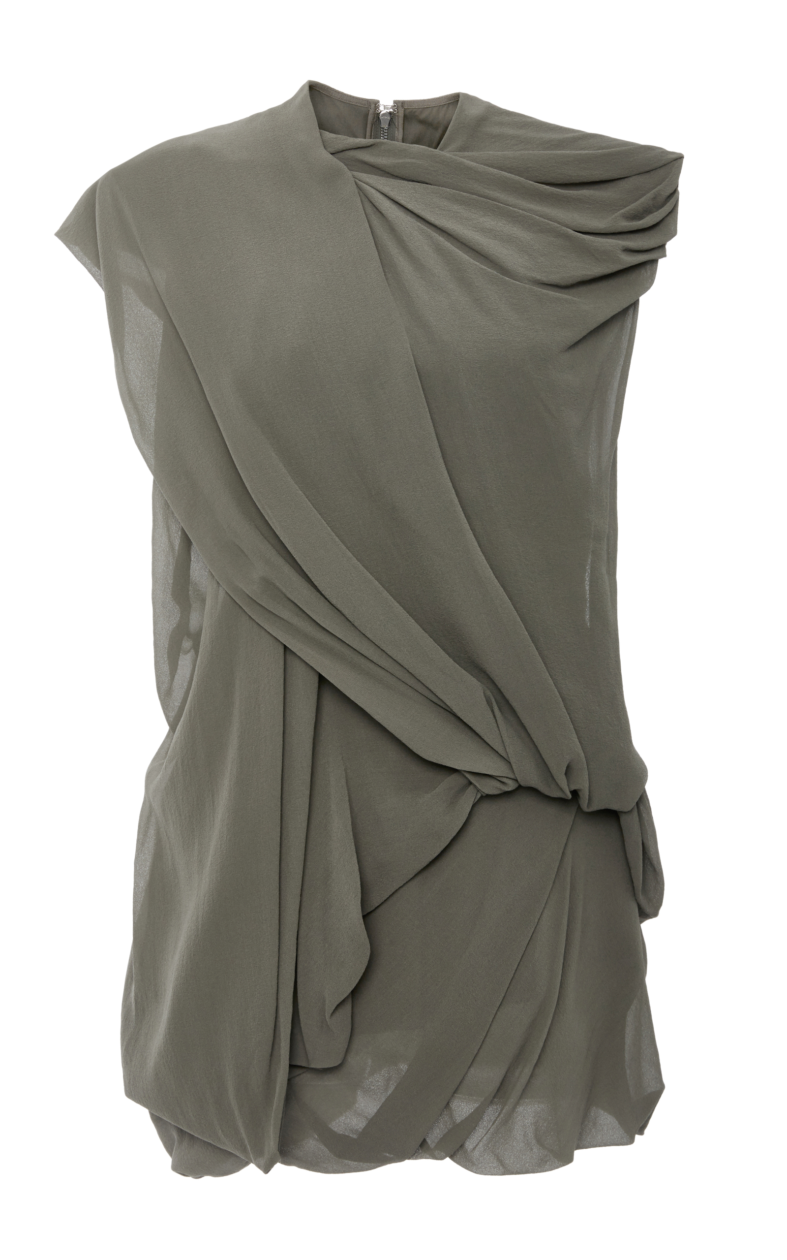 drape drapes in front gallery lyst normal pink camuto draped blouse top clothing sleeveless fuschia product vince drapefront