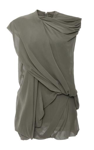 Medium rick owens khaki bundle loose draped sleeveless top