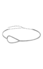 18 K White Gold Diamond Drop Choker by JACK VARTANIAN Now Available on Moda Operandi