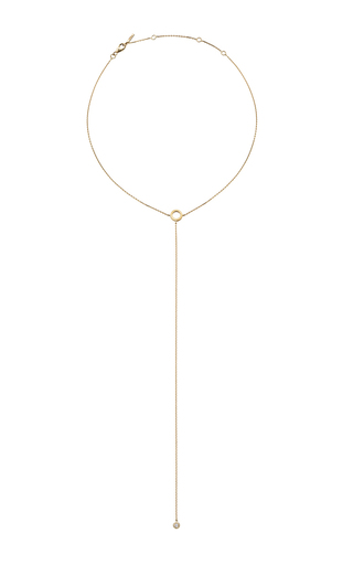 18 K Yellow Gold Fetish Diamond Necklace by JACK VARTANIAN Now Available on Moda Operandi