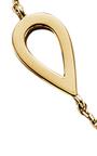 18 K Yellow Gold Drop Choker by JACK VARTANIAN Now Available on Moda Operandi