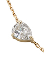 18 K Yellow Gold Diamond Drop Choker by JACK VARTANIAN Now Available on Moda Operandi
