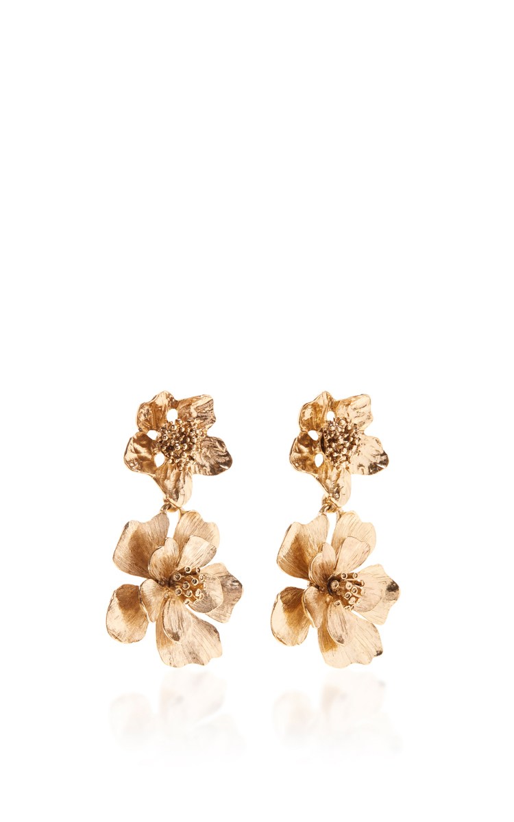 black stud shop flower large products web shashi earrings