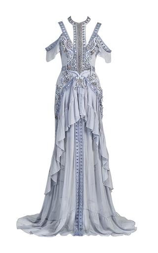 Medium thurley blue atlantis rises embellished gown