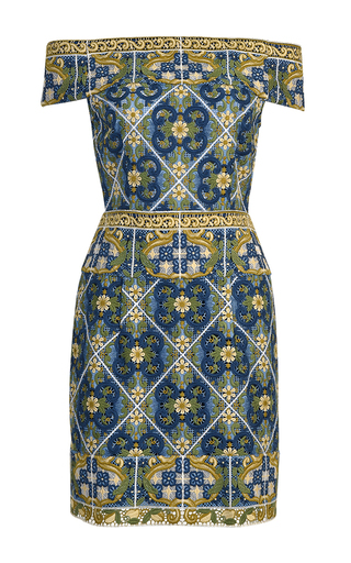 Medium thurley multi palazzo off the shoulder lace dress