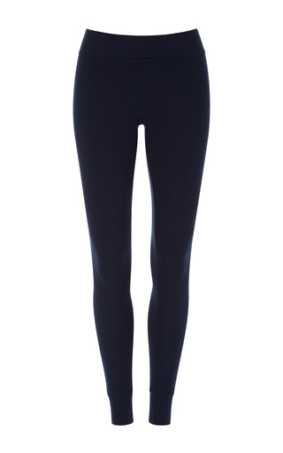 Medium atm navy long yoga tight