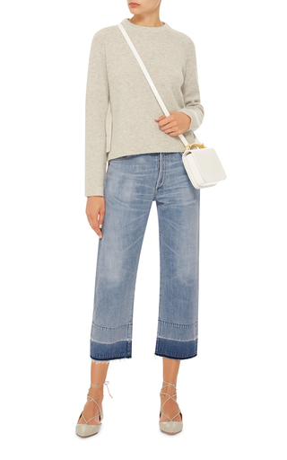 Wide Leg Cropped Jans by CITIZENS OF HUMANITY Now Available on Moda Operandi