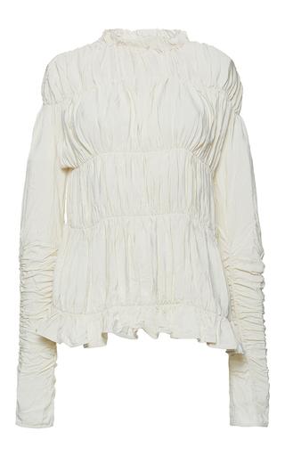 Medium marni ivory long sleeve crew neck shirt