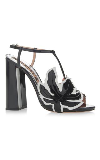Medium rochas black block heels