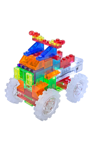 Medium laser pegs multi monster truck kit