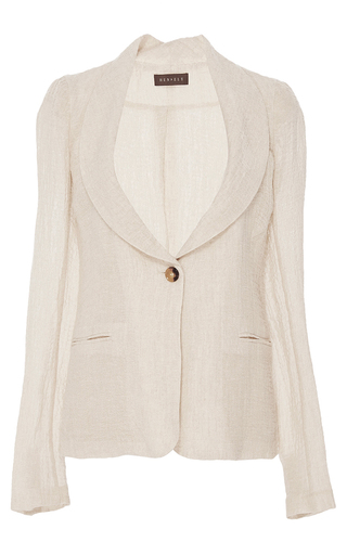 Medium hensely tan shawl collar jacket