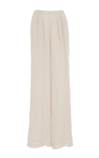 Medium hensely tan wide legged trousers