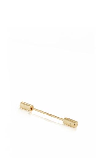 Medium hensely gold brass pin