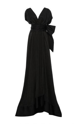 Medium hensely black kimono gown
