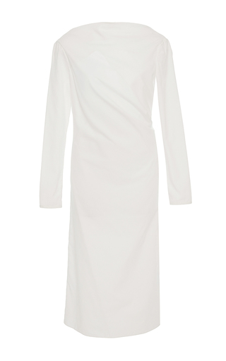 Medium hensely white long sleeve asymmetric tunic 2