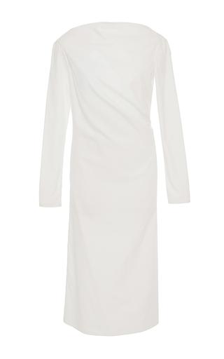 Medium hensely white long sleeve asymmetric tunic 2