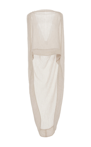 Medium hensely tan open back shawl cape 2