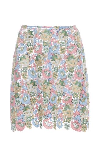 Medium macgraw multi affrodille lace mini skirt