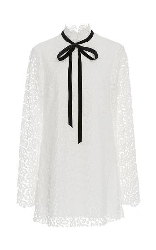 Velvet Ribbon Lace Dress By Macgraw Moda Operandi