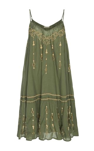 Medium all that remains green layla tier mini dress