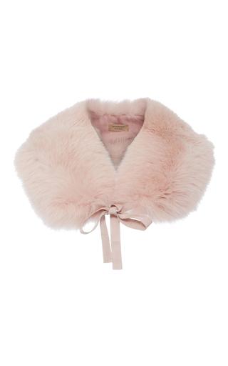 Medium burberry light pink classic fox collar