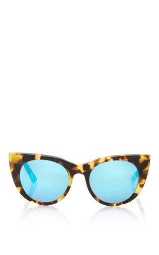 Medium kyme jr brown angel junior sunglasses
