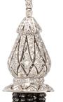 Universal Black Diamond Earrings by SANJAY KASLIWAL Now Available on Moda Operandi