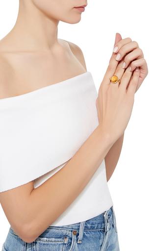Universal Citrine Ring by SANJAY KASLIWAL Now Available on Moda Operandi
