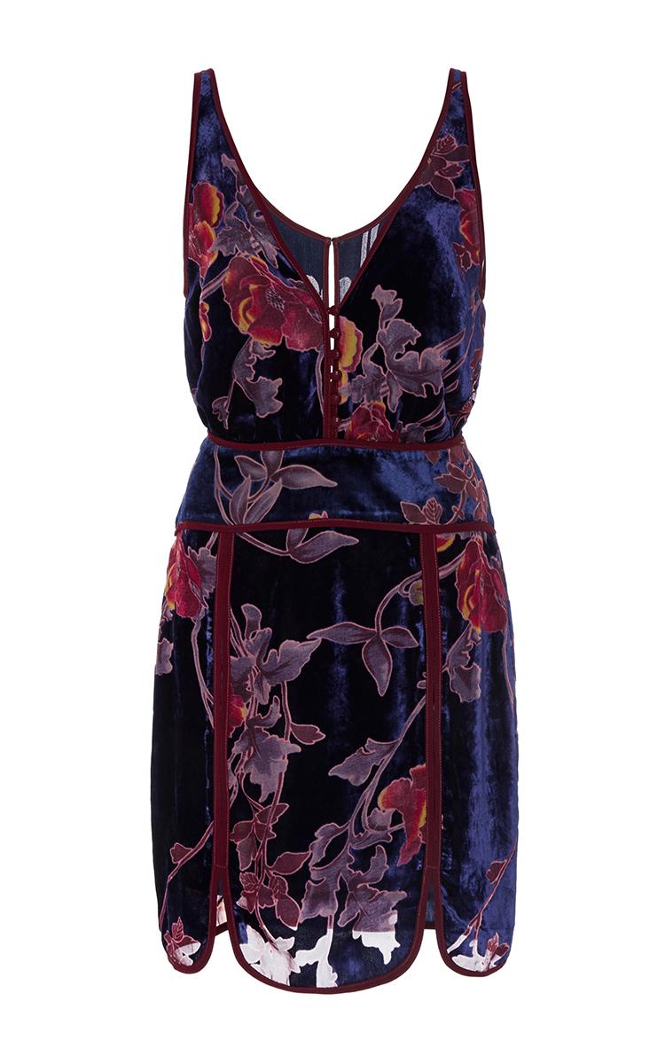 Zahara Velvet Mini Dress