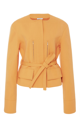 Medium protagonist orange cropped military jacket