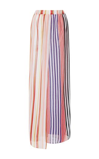 Medium missoni mare stripe variegated stripe a line skirt