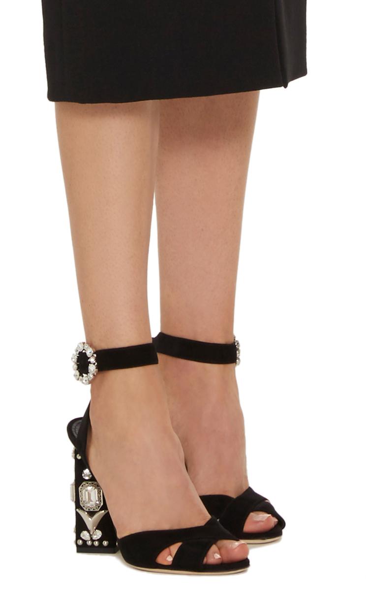 Embellished Leather Pumps By Dolce Amp Gabbana Moda Operandi