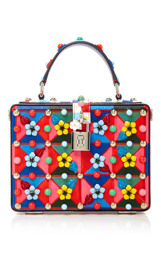 Medium dolce gabbana multi floral box bag