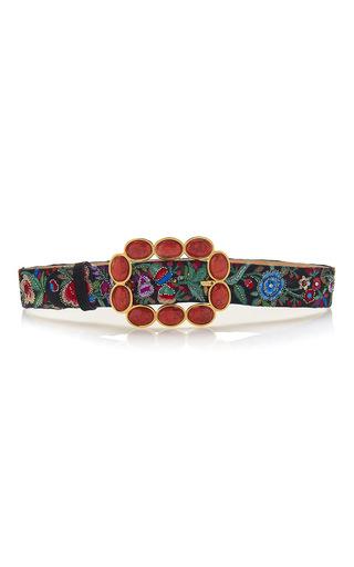 Medium roberto cavalli multi sfera fashion belt in enchanted garden