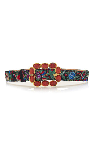 Medium roberto cavalli multi sfera fashion belt in enchanted garden