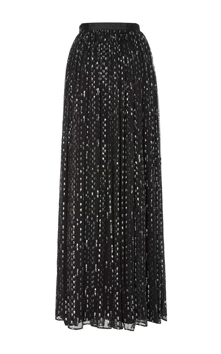 5fad2efde3b Needle   ThreadLurex Chiffon Maxi Skirt. CLOSE. Loading. Loading