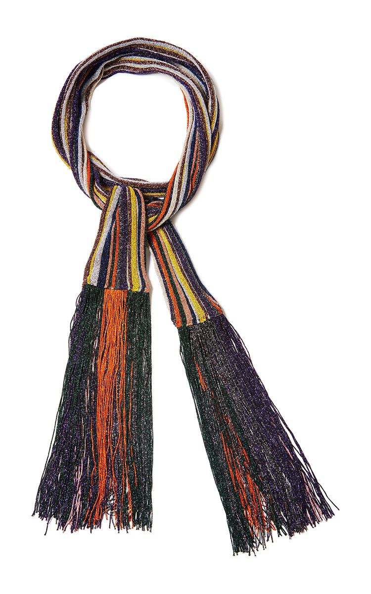 Buy Cheap Cheapest Price Missoni long metallic fringe scarf Inexpensive Sale Online Huge Surprise Cheap Price Amazing Price Online 9nWGSr