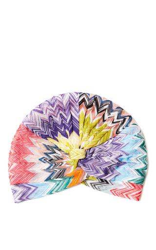 Medium missoni multi printed turban