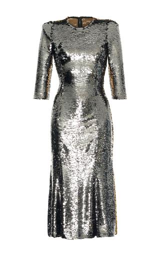 Medium dolce gabbana metallic bicolor paillet dress