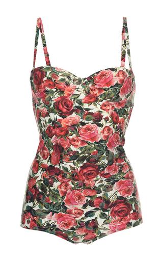 Medium dolce gabbana floral floral one piece bathing suit
