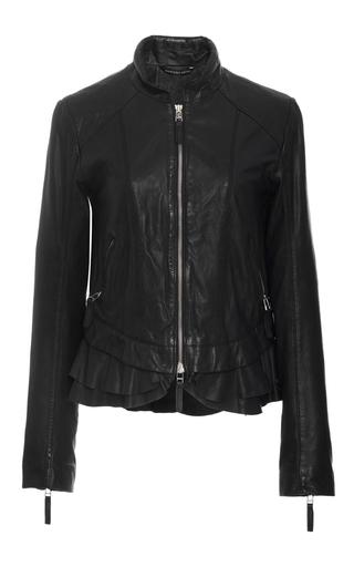 dc316c8454e Marissa WebbHarvey Peplum Leather Jacket