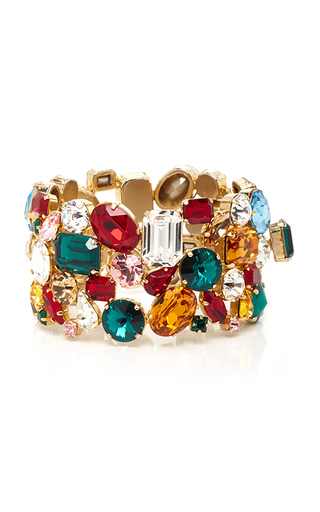 Medium dolce gabbana multi multicolor jeweled bracelet