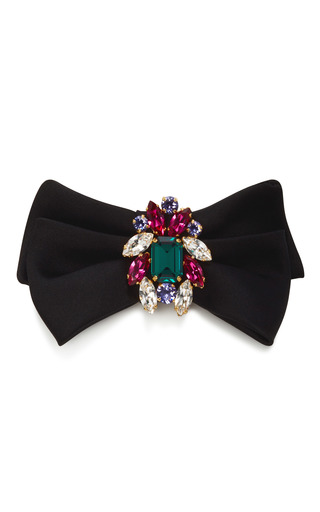 Medium dolce gabbana multi crystal hair clip