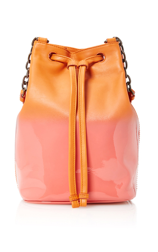 Medium tomas maier pink ombre bucket bag