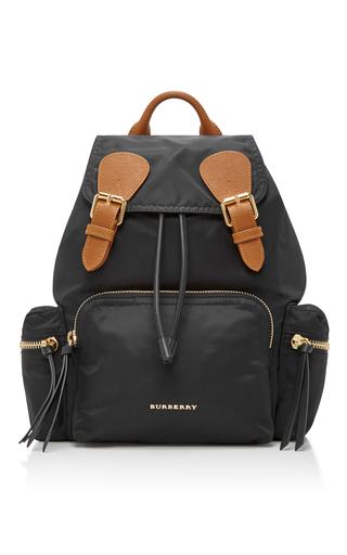 Medium burberry black medium rucksack