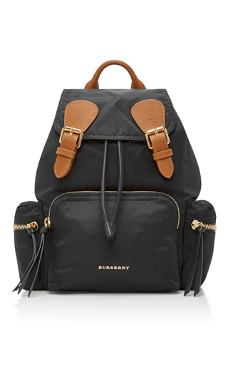 Medium burberry black medium rucksack
