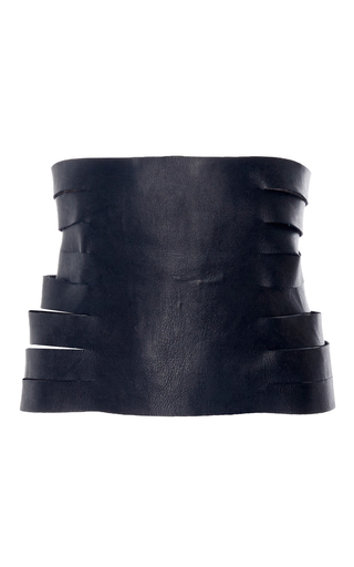 Medium kitx black harness spider belt